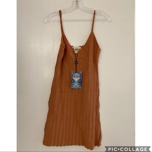 Blush tone For Love & Lemons knit dress